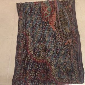 Pashmina/ silk vintage scarf